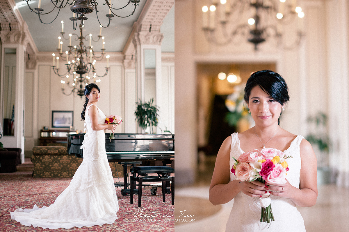Long Beach Sky Room Wedding Sneak Peek – P & M – Claire Xu Photography